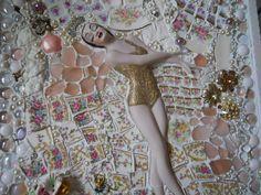 Ballerina Framed Wall Hanging 2009 Mosaic
