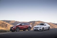 Follow the leader.  #Mercedes #Benz #GLE450 #Coupe #C450 #AMG #4MATIC #Instacar #carsofinstagram #germancars #luxury
