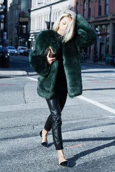 Fashion Blogger Vanessa Hong of 'The Haute Pursuit' debuts her collection of minimalist, yet brightly colored, faux fur coats—and they will take your fall / winter outfit game the NEXT level.