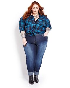 The Curvy Fashionista   The Addition Elle Fall Look Book featuring Tess Holliday