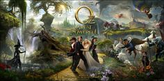 New Trailer now available on iTunes for Oz the Great and Powerful