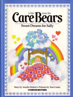 care bear books - I remember these being really big (or maybe I was just really small)