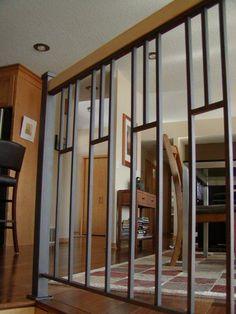 Custom interior iron railing