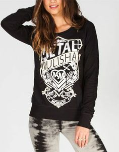METAL MULISHA Player Womens Sweatshirt #rebelstyle