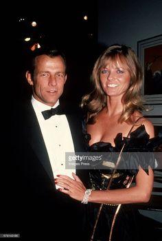 Cheryl Tiegs and Peter Beard c.1982, in New York City.