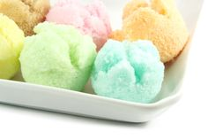Are sorbet, sherbet, and sherbert all the same? Despite the fact that the definitions of sorbet and sherbet could be used interchangeably, there is a Frozen Desserts, Frozen Treats, Just Desserts, Ice Cream Flavors, Ice Cream Recipes, Yummy Treats, Sweet Treats, Yummy Food, Cooking Ice Cream