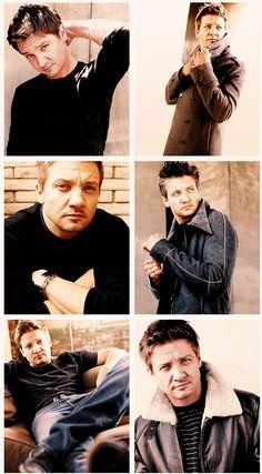 Jeremy Renner - Hawkeye - The Avengers Cast