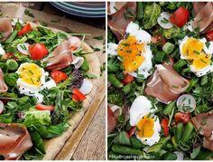 Kynuté loupáky s lískooříškovou pomazánkou – PĚKNĚ VYPEČENÝ BLOG Cobb Salad, Pizza, Food, Cooking Food, Essen, Meals, Yemek, Eten