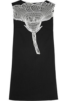 Christopher Kane Embroidered Wool-Crepe Dress, $2,190, available at Net-A-Porter. Fashion Brands Set To Blow Up In 2014 #refinery29 2014