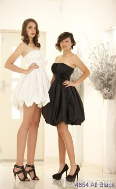 Elegant A-line Strapless Short/Mini-Length Cocktail Dress