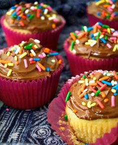 There 'aint nothin' vanilla about these classic cupcakes. Get the recipe from Delish.   - Delish.com