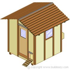DIY Vintage Chicken Coop Plans - Can Be Made From Pallets, Recycled Materials or New Materials Mobile Chicken Coop, Portable Chicken Coop, Chicken Coop Plans, Building A Chicken Coop, Diy Chicken Coop, Clean Chicken, Chicken Pen, Folding Picnic Table, Thing 1