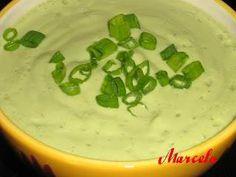 Supa crema de avocado si smantana, Poza 2 Avocado, Cheeseburger Chowder, Cantaloupe, Soup, Cooking Recipes, Fruit, Mariana, Lawyer, Chef Recipes
