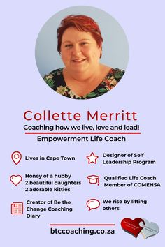 Meet Collette Merritt, the ChangeTrix who runs Be the Change Coaching. In this exclusive interview, Collette shares 5 fab tips to be the change you want to see.
