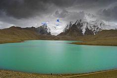 Serene Guru Dongmar Lake in North Sikkim