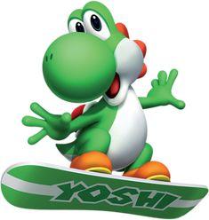 Yoshi snowboard - Yoshi Photo (30430714) - Fanpop