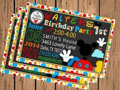 Mickey invites