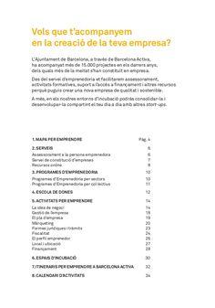 Programa Barcelona Activa Emprenedoria - 1er semestre 2017