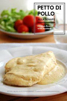 POLLO ALLA SENAPE ricetta veloce. Goloso, morbido e cremoso.