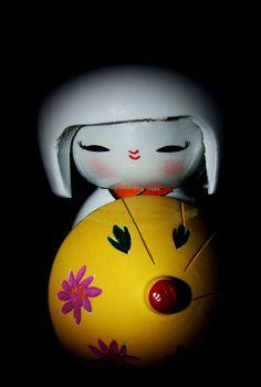 Japanese kokeshi doll