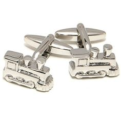 CuffSmart Train Cufflinks for Toys w/ Box. 30 days hassle-free return policy. Comes in a presentation box suitable for gifting. A Portion of the Sales Proceeds go to Charity. Stylish accessories.