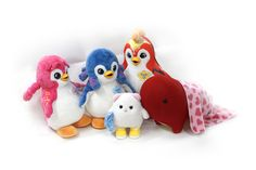 Five little friends ready to share your adventures. Baby Tv Cake, Five Little, Peacock Theme, Play To Learn, Gift Sets, Baby Love, Dinosaur Stuffed Animal, Learning, Toys