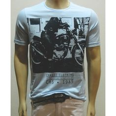 Camiseta Biker - Gola Careca - Chassi & Co.