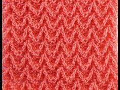 (136) Punto zig zag o espiga a crochet muy fácil y rápido - YouTube