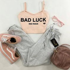 My fav! Cute Lazy Outfits, Teenage Girl Outfits, Teen Fashion Outfits, Cute Casual Outfits, Sporty Outfits, Girly Outfits, Outfits For Teens, Pretty Outfits, Stylish Outfits