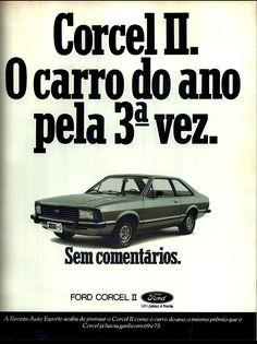 Anúncio Ford Corcel II - 1979