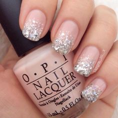 This series deals with many common and very painful conditions, which can spoil the appearance of your nails. SPLIT NAILS What is it about ? Nails are composed of several… Continue Reading → Glitter Gel Nails, Shellac Nails, Gel Nail Art, Nail Polish, Pink Glitter, Sparkly Nails, Glitter Art, Clear Nails, Silver And Pink Nails