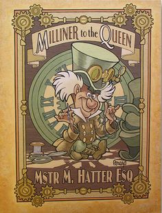 Steampunk Tendencies | MichaelPeraza-hatter-mechanical-kingdoms
