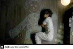 Iraqi boy in an orphanage drew his mother and slept in her arms
