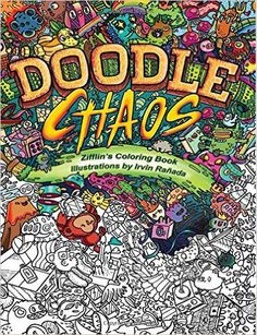 Doodle Chaos Zifflins Coloring Book Volume By Zifflin
