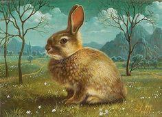Bunny . $20.00, via Etsy.