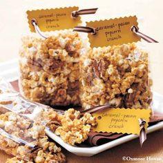 Caramel-Pecan Popcorn Crunch