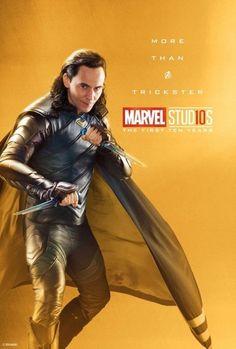 Marvel Studios More Than A Hero Poster Series Loki Captain Marvel, Marvel Avengers, Marvel Comics, Heroes Dc Comics, Films Marvel, Bd Comics, Marvel Memes, Marvel Characters, Marvel Heroes