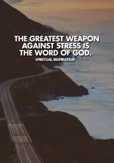 Tell your stress about your God!!