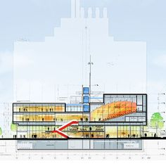 Renzo Piano Building Workshop - Projects - By Type - Manhattanville Academic Conference Center