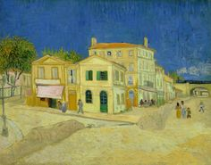 Vincent Van Gogh, The Yellow House,  Arles 1888 - 1889. Van Gogh Museum