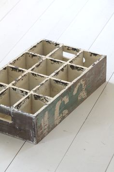 .Love wooden boxes and crates