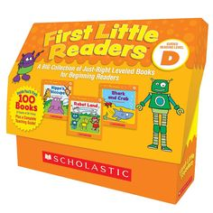 FIRST LITTLE READERS BOX ST LEVEL D