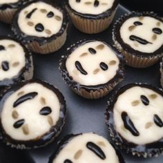 No Face cupcakes SO AMAZING I want these for my birthday when I get back in America!