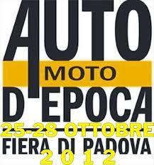Auto e Moto d'Epoca 2012 in Fiera a Padova http://www.hotel-padova.com/auto-moto-epoca-2012/