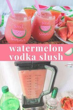 Slush Watermelon Vodka Slush is a yummy summer drink recipe you need in your life! So refreshing and so delicious!Watermelon Vodka Slush is a yummy summer drink recipe you need in your life! So refreshing and so delicious! Summer Drink Recipes, Alcohol Drink Recipes, Frozen Alcoholic Drinks, Fun Summer Drinks Alcohol, Slushy Alcohol Drinks, Frozen Drink Recipes, Mixed Drinks Alcohol, Good Mixed Drinks, Summer Mixed Drinks