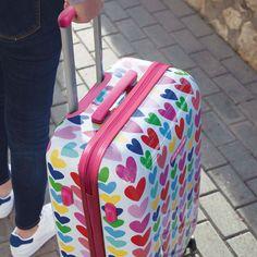 Bolsa de viaje con estampado de corazones «Bride To Be