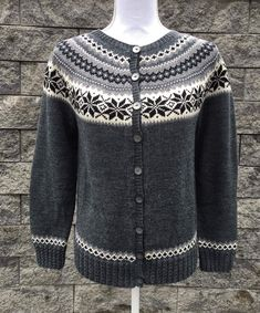 Knitting Patterns Free, Free Pattern, Fair Isle Pattern, Cardigans, Sweaters, Jumpers, Knit Crochet, Clothing, Youtube