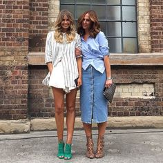 Joined at the hip this with my bestie by elle_ferguson Fashion Mode, Denim Fashion, Womens Fashion, Elle Ferguson, Summer Outfits, Casual Outfits, Estilo Denim, Material Girls, Street Style Looks