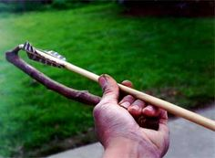 The atlatl was used for thousands of years almost worldwide. It had the advantage of lengthening the throwing arm of the hunter, thus more leverage to increase the speed of the dart. Despite the worldwide variations in the design of the atlatl, the basic components are still the same. They all incorporate a handle connected to a shaft with a spur. Make your own from a tree branch