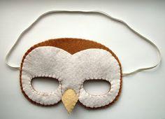 Whoo, hoooo!   DIY BARN OWL MASK!  Enjoy :D